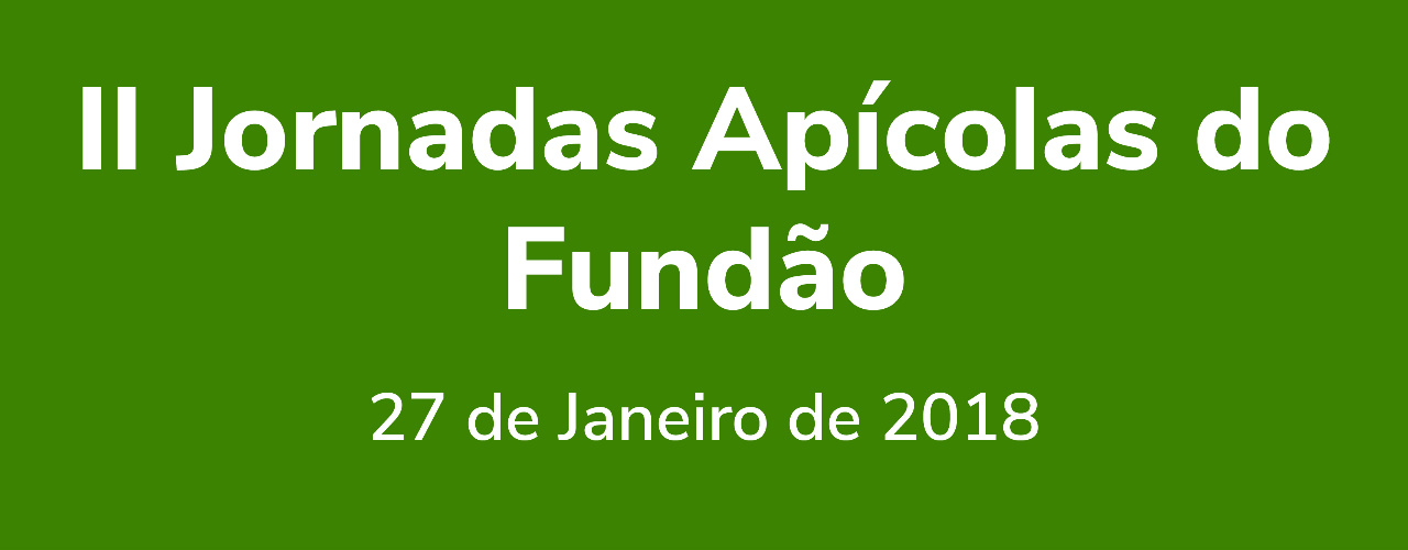 II Jornadas Apícolas do Fundão